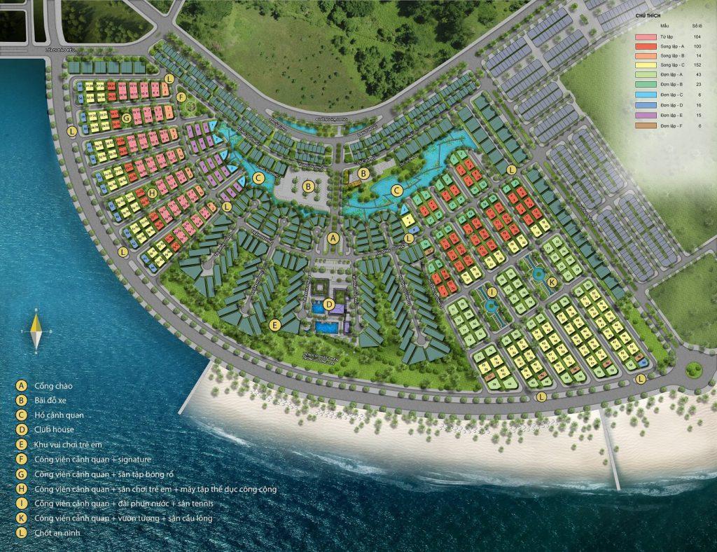 Mặt bằng dự án Sun Grand City Feria Hạ Long