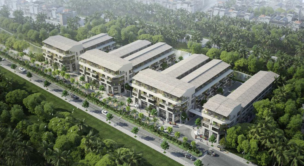 dự án nhà phố thủy trúc residences