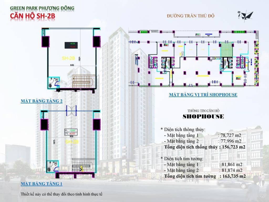 thiết kế kiot shophouse 7