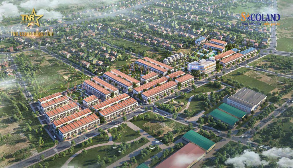 Phối cảnh dự án TNR Stars Hồng Lĩnh - Hà Tĩnh