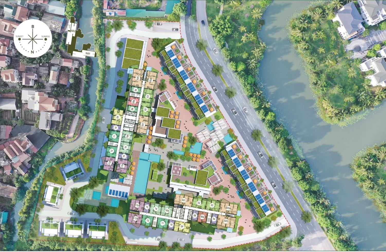Mặt bằng tổng thể dự án Solforest Residences