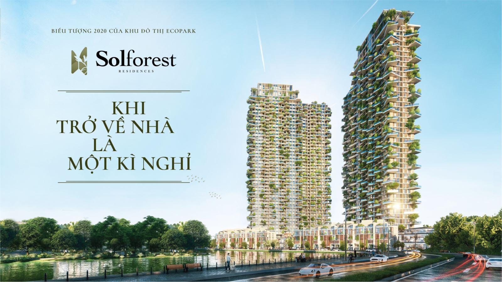 dự án chung cư sol forest residences ecopark