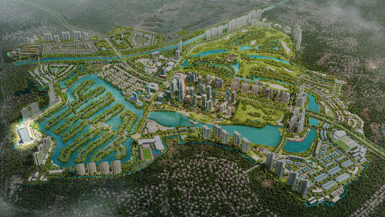 vị trí dự án sol forest residences