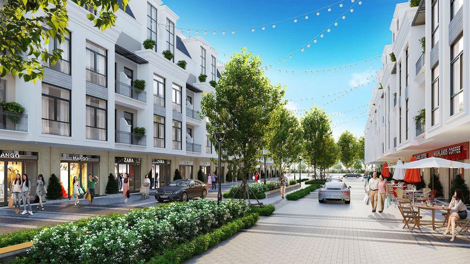 shophouse dự án eurowindow twin parks gia lâm