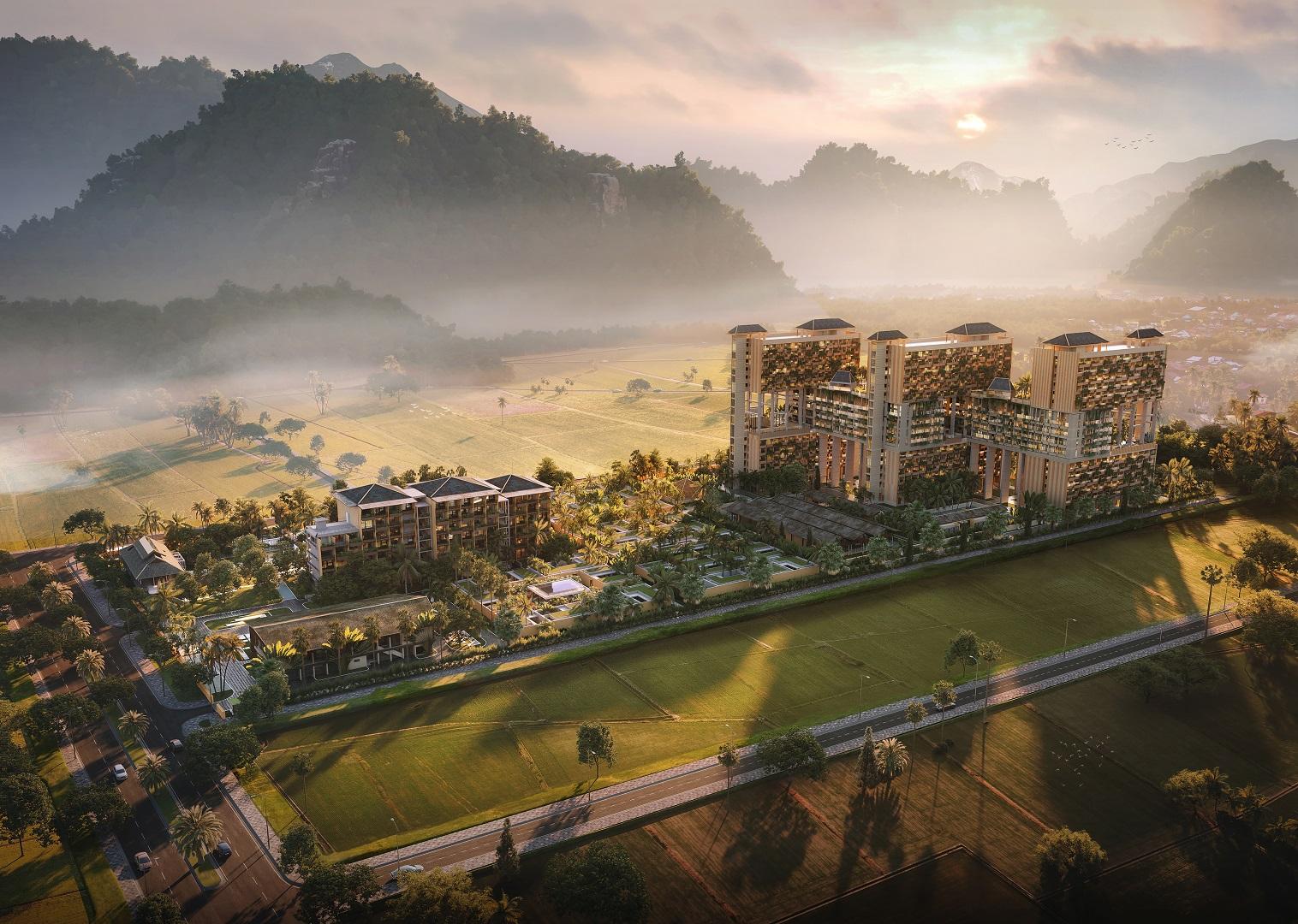 phối cảnh dự án apec mandala sky villas kim bôi hòa bình