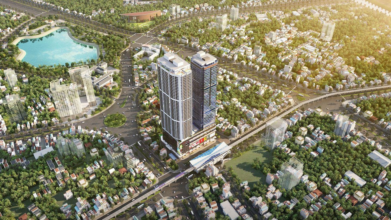 dự án discovery skyline 302 cầu giấy