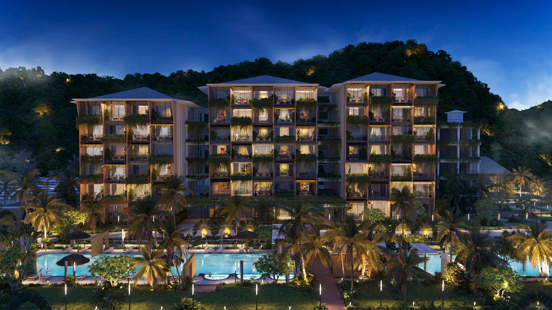 căn hộ khách sạn dự án apec mandala sky villas kim bôi hòa bình
