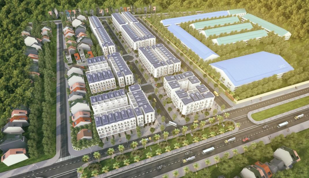 dự án midtown one uông bí