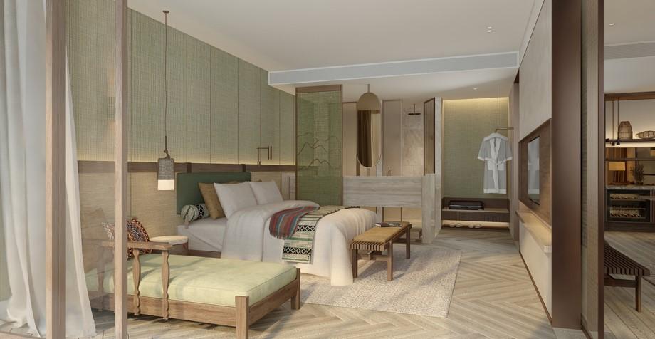 nội thất căn hộ apec mandala sky villas kim bôi hòa bình