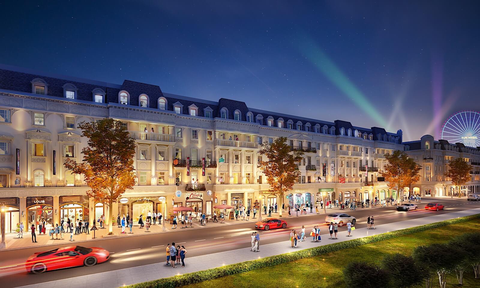 shophouse dự án sun grand boulevard sầm sơn