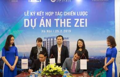 hợp tác chiến lược phân phối dự án the zei