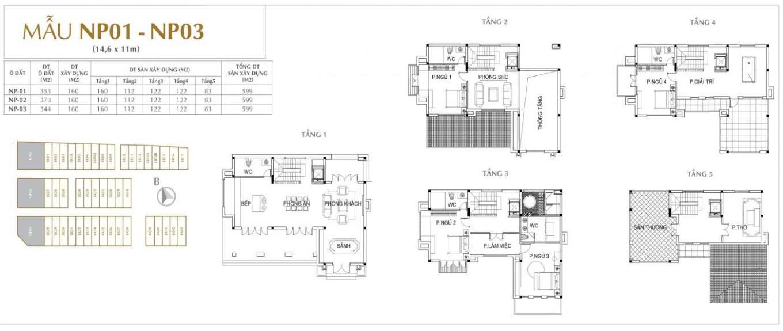 thiết kế nhà phố sunshine mystery villas