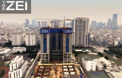 tiến độ xây dựng dự án the zei ngày 20-02-2020