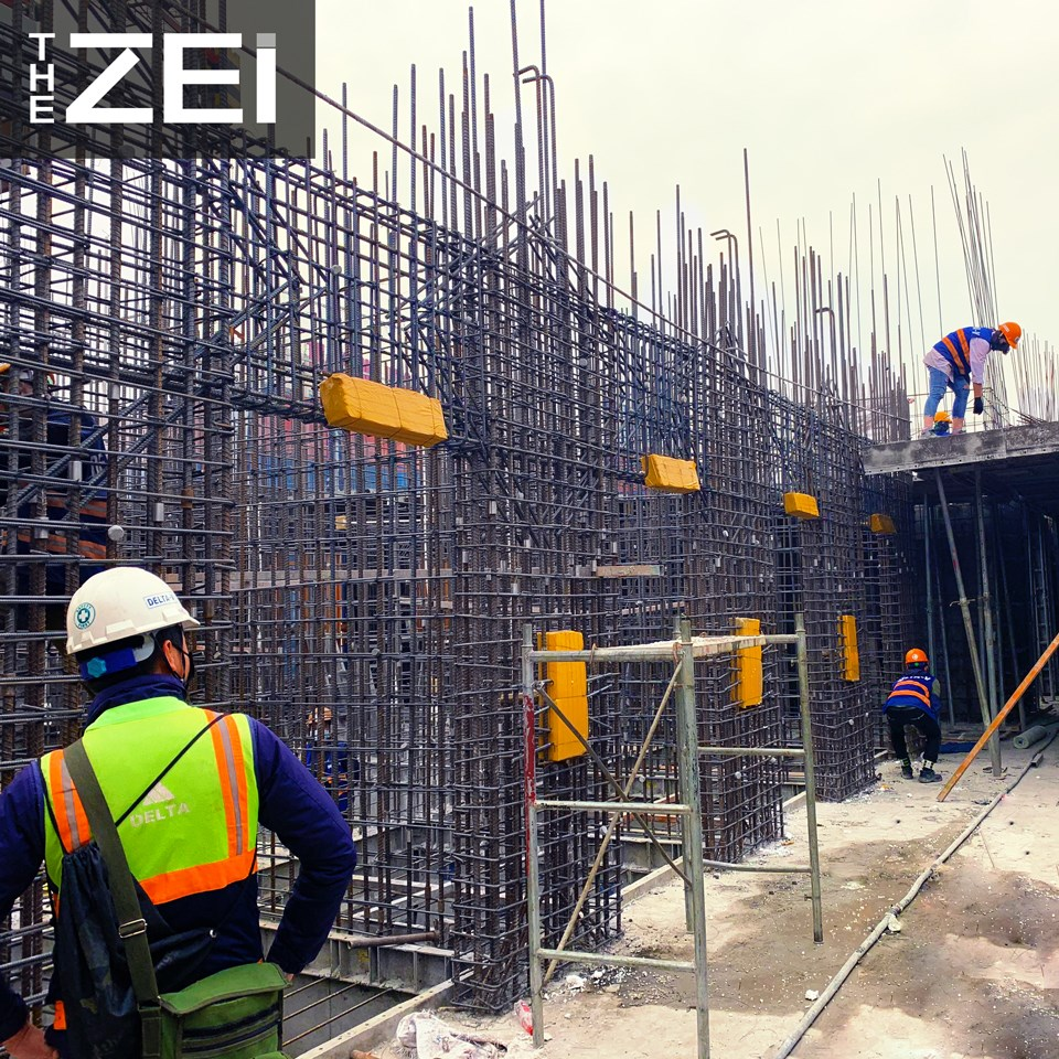 tiến độ xây dựng dự án