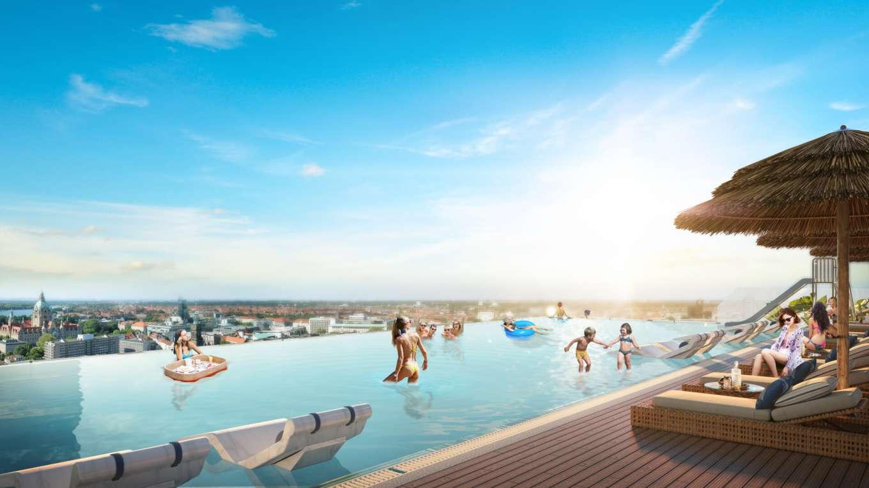 bể bơi tràn bờ apec mandala grand phú yên