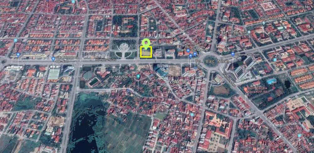 vị trí chung cư dabaco complex building lý thái tổ