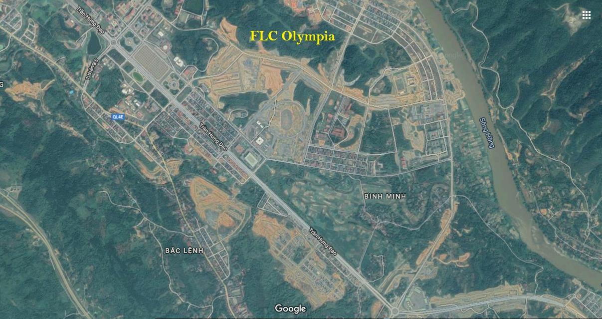 vị trí dự án flc olympia lào cai