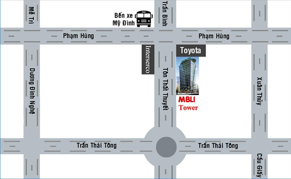 vị trí dự án mbli tower